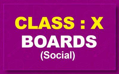 10th Social : Boards