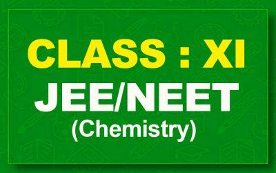 11th Chemistry : JEE/NEET