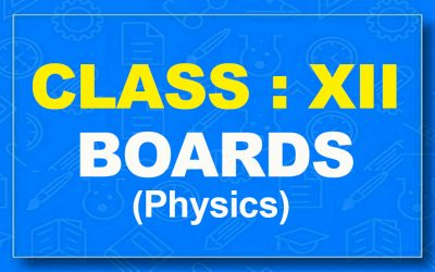 12th Physics : Boards (2021-22)
