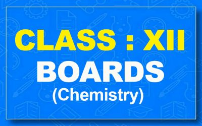 12th Chemistry : Boards (2021-22)
