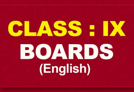 9th English : Boards (2021-22)