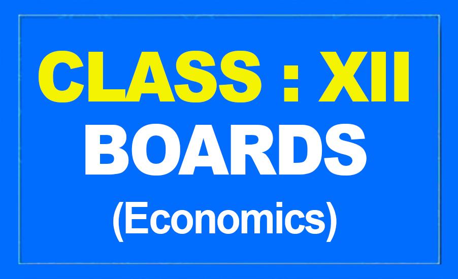 12th Economics : Boards